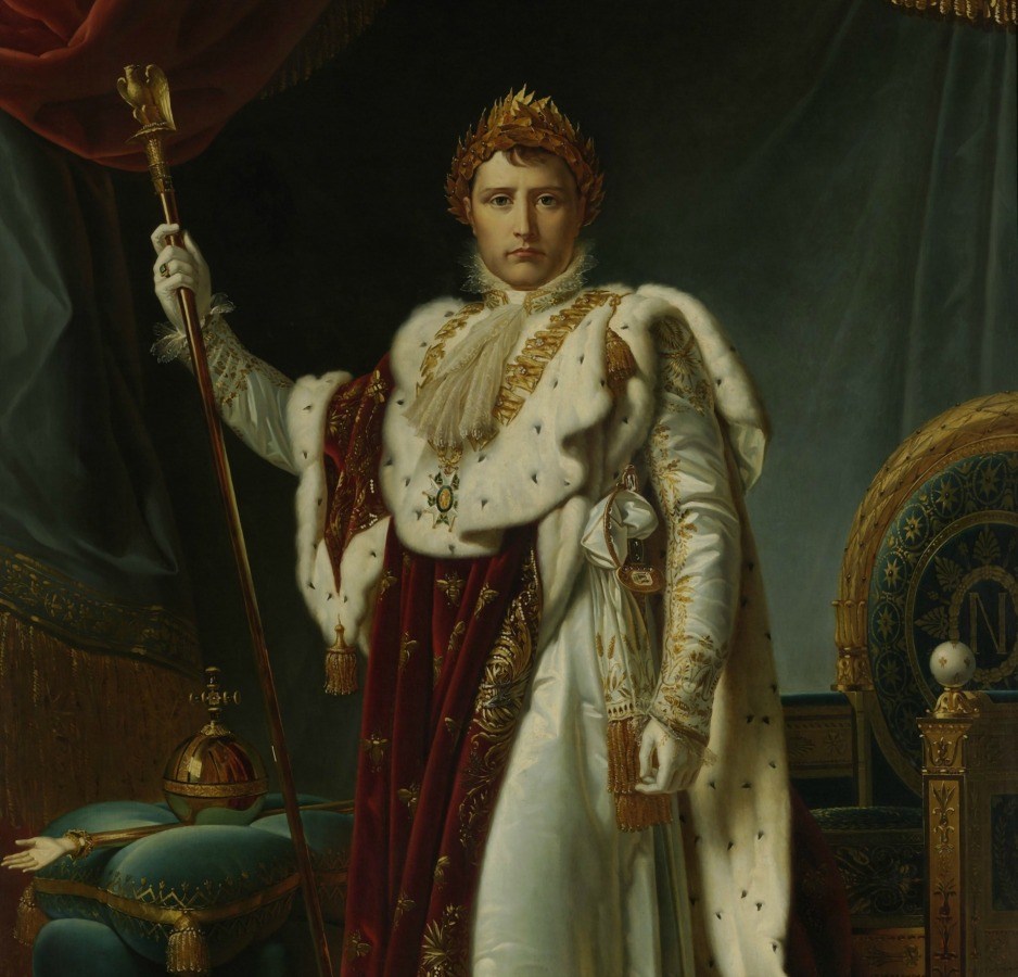 An image of Napoleon and his jewellery