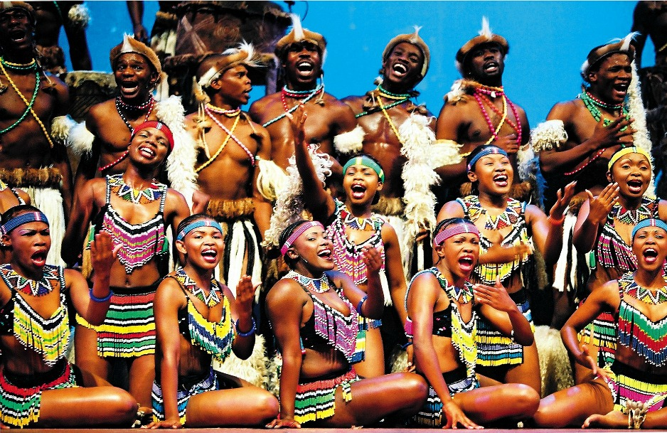 An image of the Zulu tribe