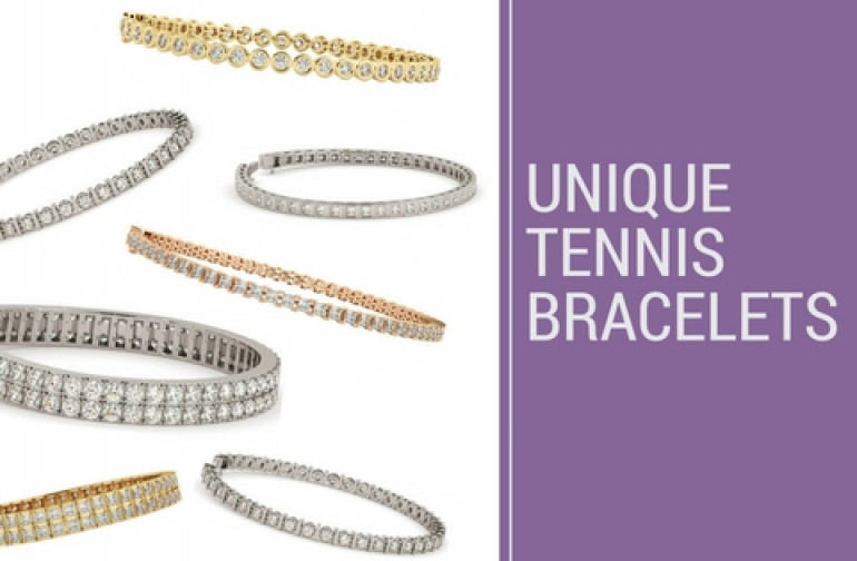 Unique Diamond Tennis Bracelets that will last forever