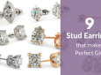 9 Diamond Stud Earrings that makes perfect gift