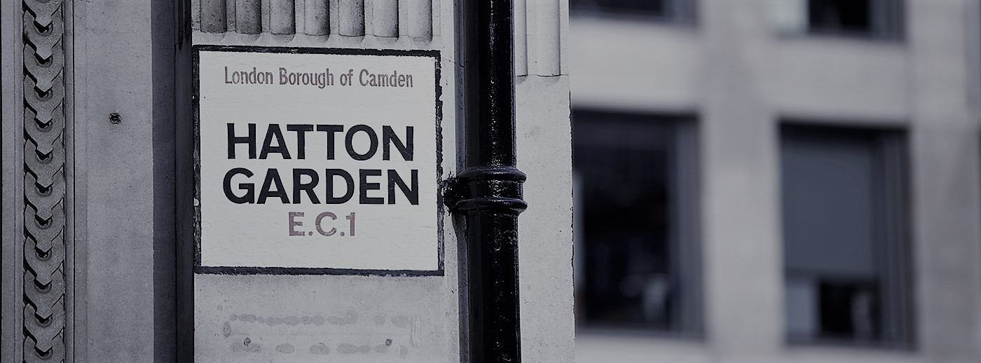 Where is the London diamond district?