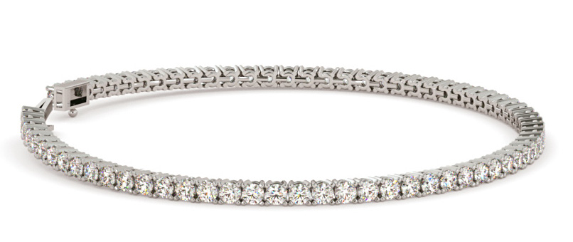 Serena diamond tennis bracelet