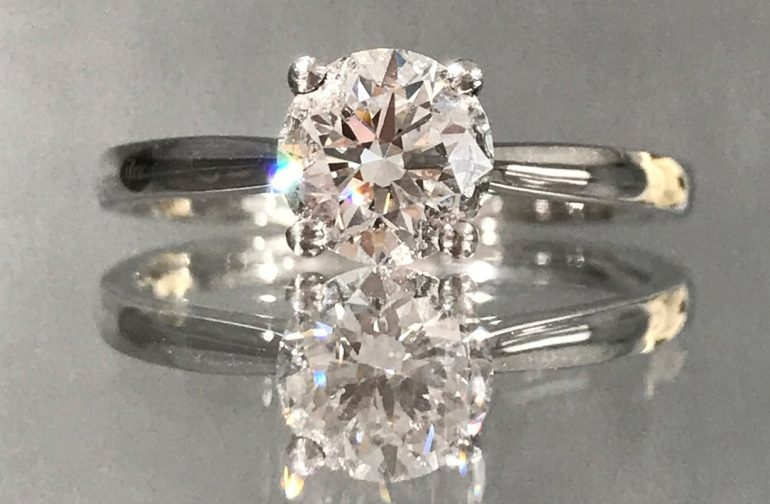 Ultimate guide to round-cut engagement rings