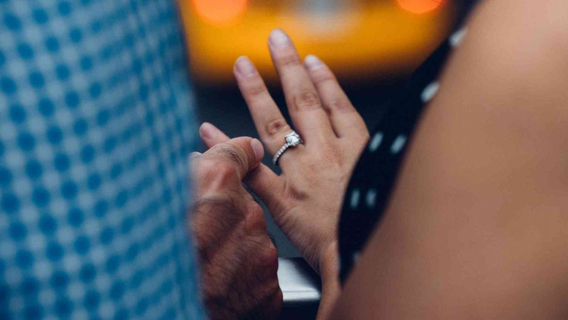 How to secretly find out your partner's ring size