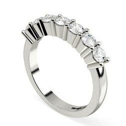 Round Multi Stone Diamond Rings