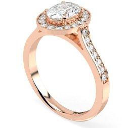 Halo & Cluster Diamond Rings