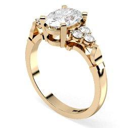 Other Cuts Multi Stone Diamond Rings
