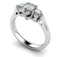 Other Cuts Multi Stone Diamond Rings