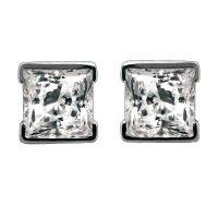 Princess Stud Diamond Earrings