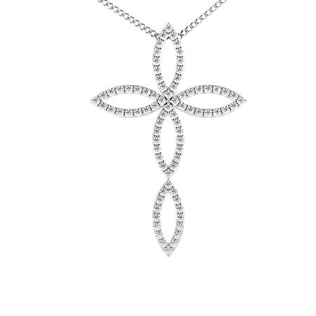 Designer Diamond Pendant - HPRDR112