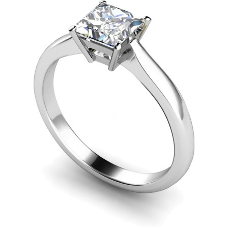 HRP266 Princess Solitaire Diamond Ring 0.31ct G I1 - HRP266RN255