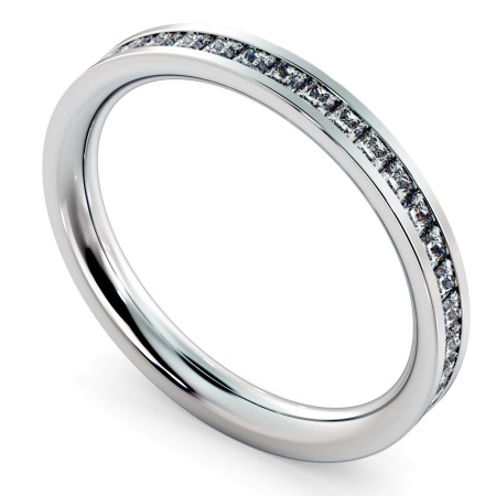 CEPHEUS Princess  cut Full Eternity Ring - HRPFE717