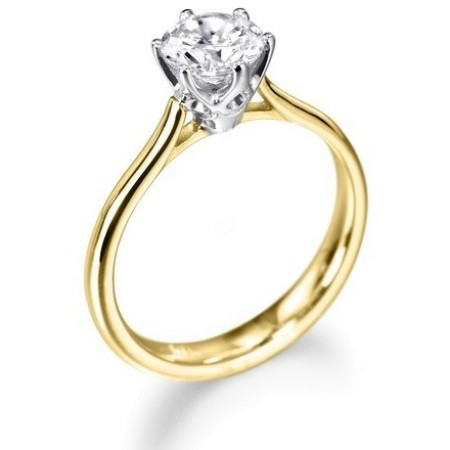 Round Diamond Engagement Ring 0.26ct G SI2 - HRR1BAT1
