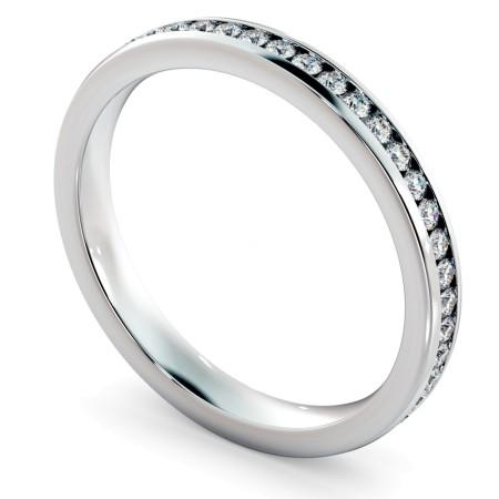 VOGUE Round cut Full Eternity Ring - HRRFE715