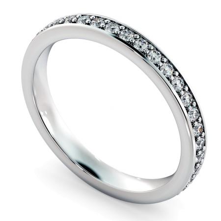 ANTLIA Micro Pave set Full Eternity Ring - HRRFE723