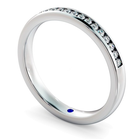 AURIGA Round cut Half Eternity Ring - HRRHE714