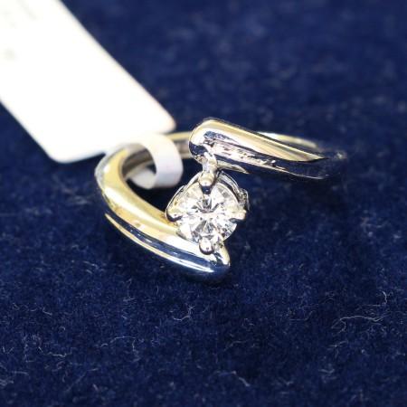 Round Diamond Engagement Ring 0.30ct G VS2 - ER0401BAT1
