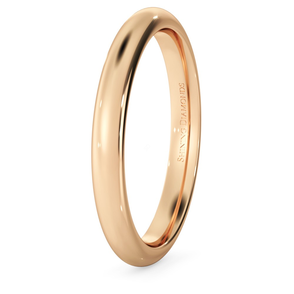 HWNP2517 D Court Wedding Ring
