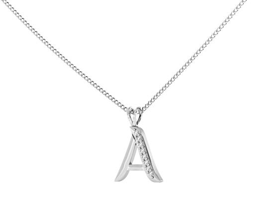 A Alphabet Pendant - HPRAA