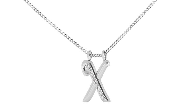 X Alphabet Pendant - HPRAX