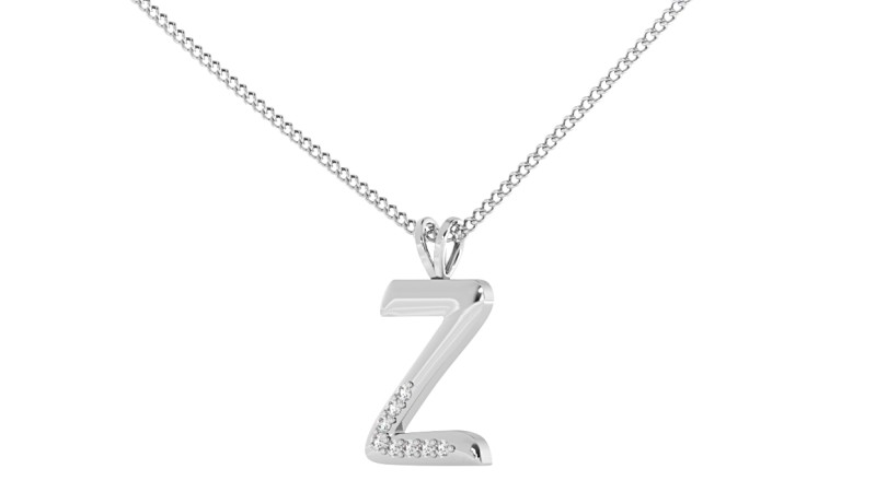 Z Alphabet Pendant - HPRAZ