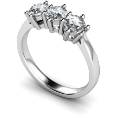 HRRTR101 3 Round Diamonds Trilogy Ring