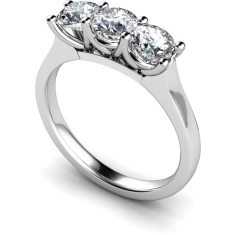 HRRTR187 3 Round Diamonds Trilogy Ring