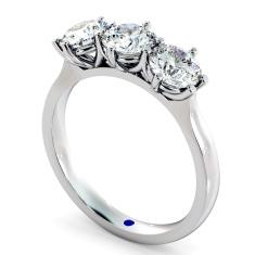 HRRTR189 3 Round Diamonds Trilogy Ring