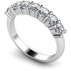 HRRTR223 Round 7 Stone Diamond Ring
