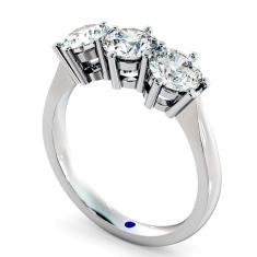 HRRTR90 3 Round Diamonds Trilogy Ring