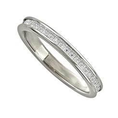 0.52CT VS/FG Princess Diamond Full Eternity Ring - 0.52CT VS/FG Princess Diamond Full Eternity Ring