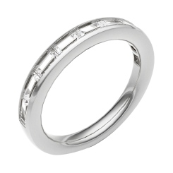 HRPHE2258 Half Eternity Ring - white