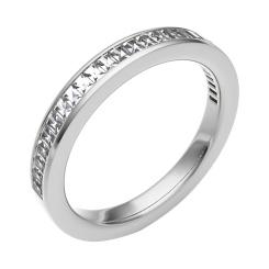 HRPHE2259 Half Eternity Ring - white