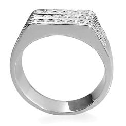 HRR1770 1.06CT VS/EF MENS DIAMOND RING - white