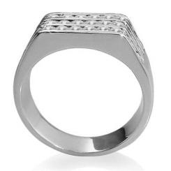 HRR1771 1.06CT VS/EF MENS DIAMOND RING - white_2
