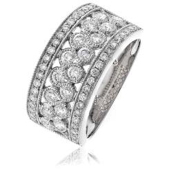 1.00CT VS/F Round Diamond Designer Ring - 1.00CT VS/F Round Diamond Designer Ring