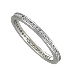 0.25CT VS/EF FULL DIAMOND BAND - white_2