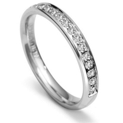 0.30CT VS/FG Round Diamond Wedding Ring - 0.30CT VS/FG Round Diamond Wedding Ring