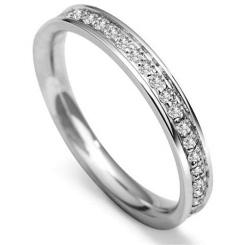 0.40CT VS/FG Round Diamond Wedding Ring - 0.40CT VS/FG Round Diamond Wedding Ring