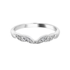 0.10CT VS/FG Round Diamond Wedding Ring - 0.10CT VS/FG Round Diamond Wedding Ring
