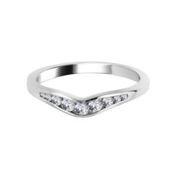 0.20CT VS/EF Round Diamond Wedding Ring - 0.20CT VS/EF Round Diamond Wedding Ring