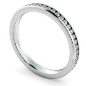 VOGUE Round cut Full Eternity Ring