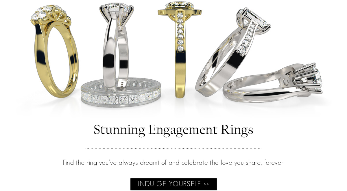 Launching diamonds rings, diamond jewellery, diamond earrings, diamond engagement rings