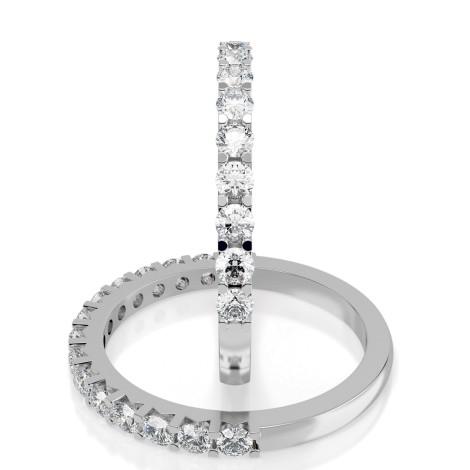 Round Half Eternity Diamond Ring - HRRHE234 - 360 animation
