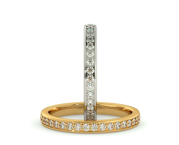 ANTLIA Micro Pave set Full Eternity Ring - HRRFE723 - 360 animation