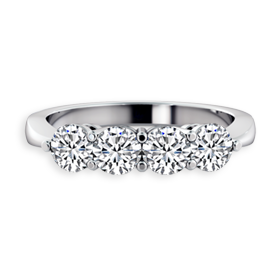 4 stone diamond rings