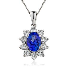 diamond gemstone pendants