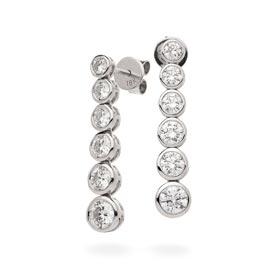 diamond journey earrings
