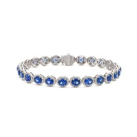 gemstone diamond bracelets