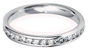 Ladies Diamond Wedding Rings